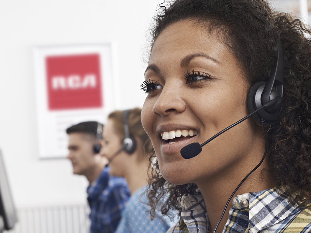 Customer support, after-sales service television, household