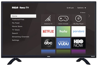 "49"" SMART 4K UHD LED RCA ROKU TV"