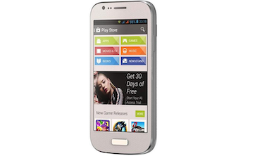 "M1 4.0"" UNLOCKED CELL PHONE, DUAL SIM, 5MP CAMERA -WHITE"